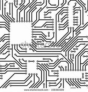 motherboard brain on white background technology stock With circuit board medic