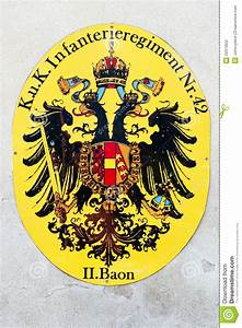Habsburg Coat Of Arms Editorial Photography