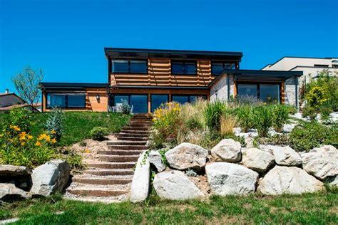 comment renover une cuisine maison bois poteau poutre toiture terrasse millery lyon 69