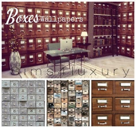 boxes wallpapers  sims luxury sims  updates