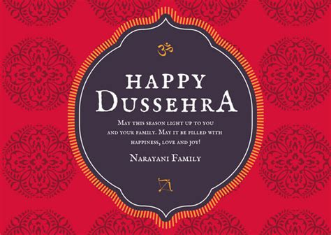 happy dussehra greeting card templates  canva