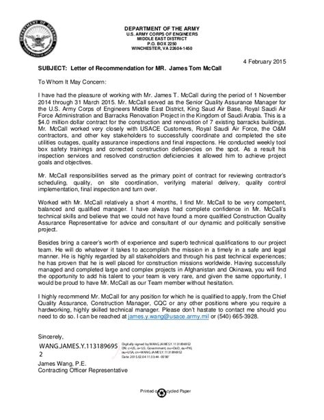 army recommendation letter template reportspdfweb