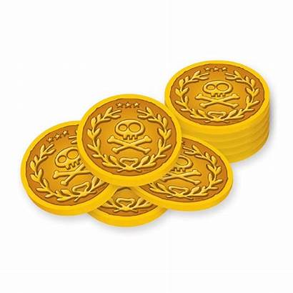 Coins Gold Pirates Jake Clipart Neverland Pirate
