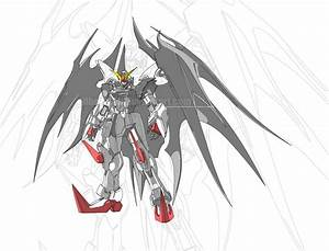 gundam deathscythe hell custom MG by gilbert86II on DeviantArt