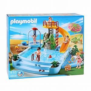 toboggan bebe valoofr With playmobil piscine avec toboggan pas cher