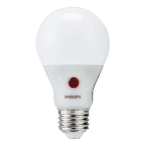 led dusk to dawn sensor light bulbs philips 60w equivalent soft white dusk till dawn a19 led