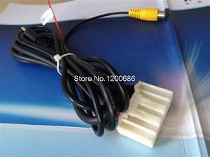 Cd Aux Audio Input Wire Reverse Video Wire Harness For