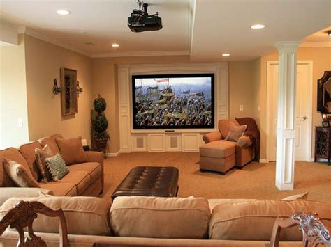 Home Design Basement Ideas by Finished Basement Ideas With Proper Furnishing Worth To