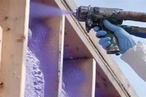Isolation Mur Intérieur Polyuréthane : isoler les murs et la fondation avec le polyur thane ~ Dailycaller-alerts.com Idées de Décoration