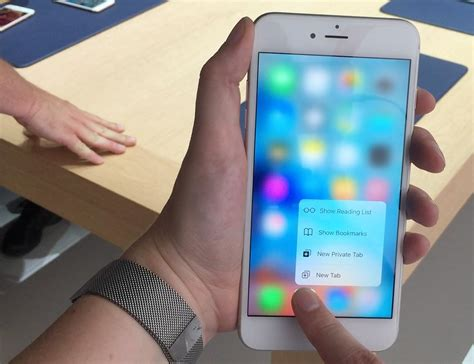 apple iphone 6s 6s plus with 3d touch live and