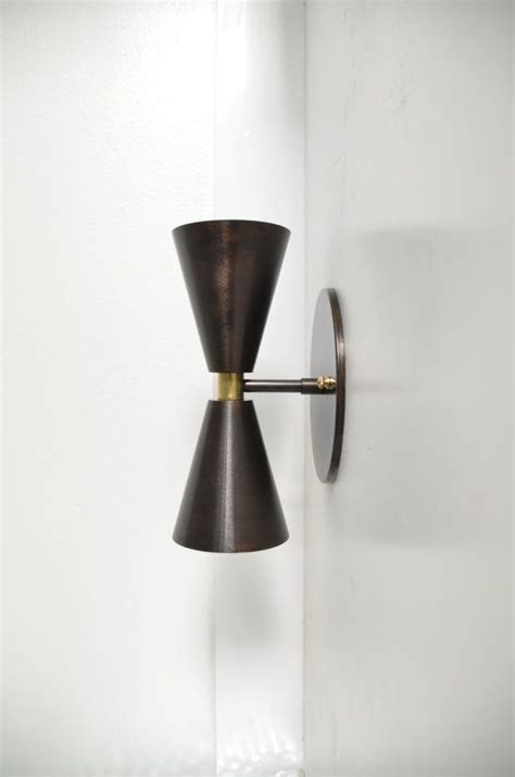 smokey blacken brass madonna   solid brass cone