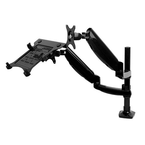 6 monitor desk mount fleximounts 2 in 1 dual monitor arm desk mount lcd stand