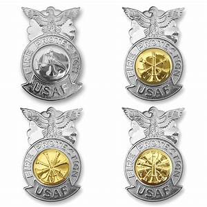 Air Force Miniature Fire Protection Badge | USAMM
