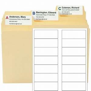 hanging folder tab template supertab viewables blank label With hanging folder tab template