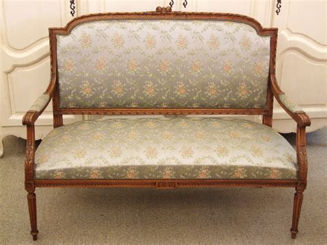 F410s Divine Antique French Empire Style Sofa Settee
