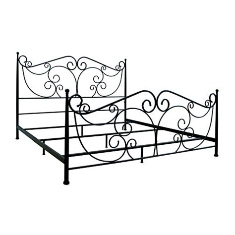 4887 metal bed frame king bell o b538kdb metal bed frame king bronze walmart