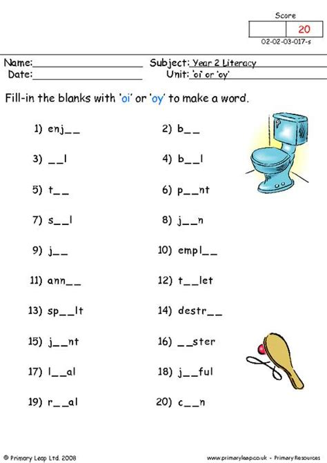 oi oy printables primaryleap co uk oi or oy worksheet