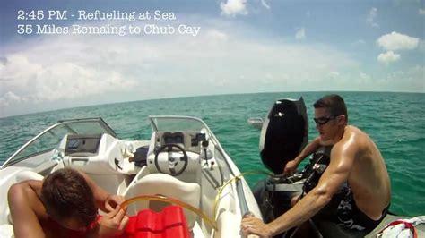 Jet Boat From Miami To Bahamas by Miami To Exuma Bahamas On Sea Doos Part I