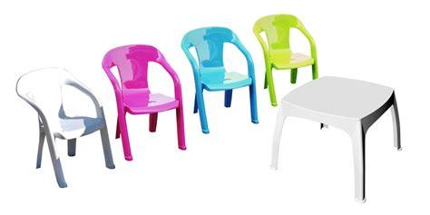 salon jardin enfant salon de jardin enfants 1 table 4 chaises plastique shaf oogarden