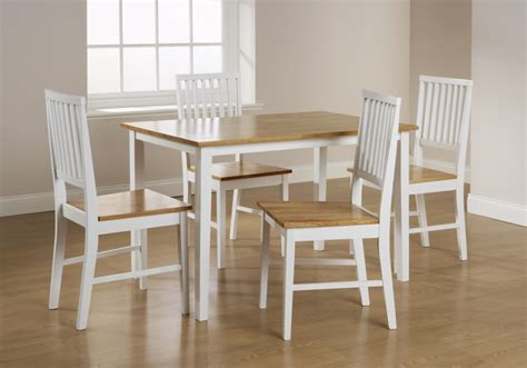 glamorous white oak dining table and chairs 50 with