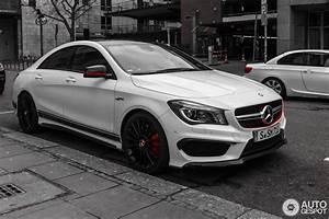 Mercedes Cla Blanche : mercedes benz cla 45 amg edition 1 c117 12 januari 2015 autogespot ~ Melissatoandfro.com Idées de Décoration