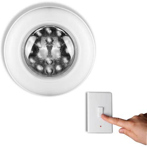 eclairage cuisine sans fil applique de plafond éclairage 18 led avec interrupteur