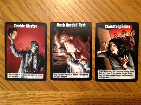 zombies game cards event player board idea were grinded ones anti both bad too much