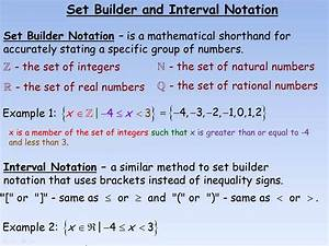 Set Builder and Interval Notation.mp4 - YouTube