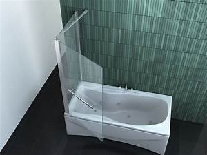 Duschwand Für Badewanne : intrexo 75 80 x 140 cm badewannen faltwand duschwand ~ Michelbontemps.com Haus und Dekorationen