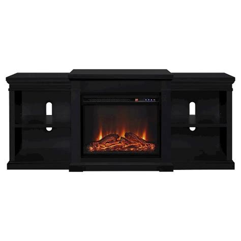 electric fireplace tv stand 70 inch union electric fireplace tv stand with side shelves for 9644