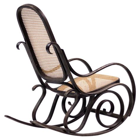 Affordable Modern Rocking Chair by Bentwood Rocker Model 10 With Cane Seat And Back My Modern