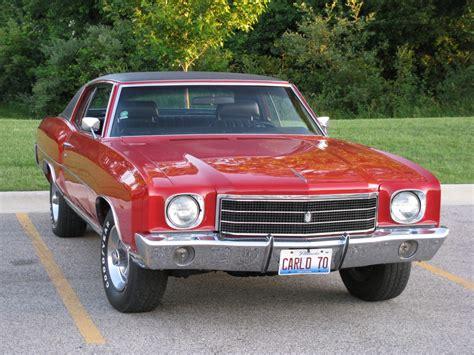 1970 monte carlo 1970 monte carlo ss specs