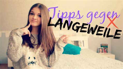 Tipps Gegen Langeweile!  Mond Wika ★ Youtube