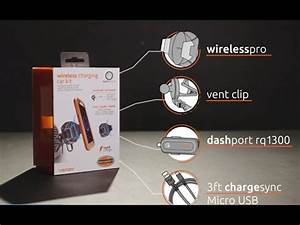 Handyhalterung Auto Wireless Charging : how to install the ventev mobile wireless charging car kit ~ Kayakingforconservation.com Haus und Dekorationen