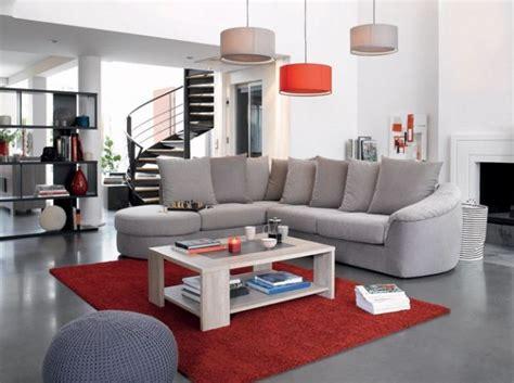 canapé ée 70 canapé gris tapis conforama architecture interior