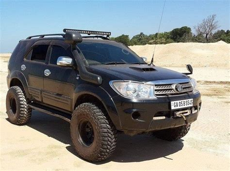Toyota Fortuner Modification by Six Modification Ideas For The Toyota Fortuner Suv