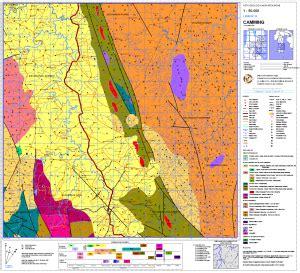 peta geologi kabupaten bone lembar camming peta tematik
