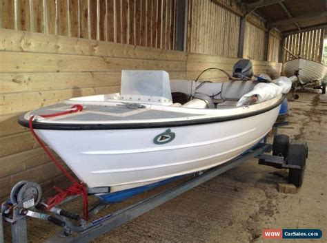 Boat Trailers For Sale Uk On Ebay by Bonwitco Boat Trailer And Outboard For Sale In United Kingdom