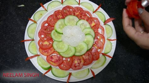 cucumber salad decoration tomato and cucumber salad decoration ideas 09 neelam