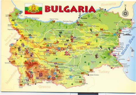 bulgaria map  bulgaria