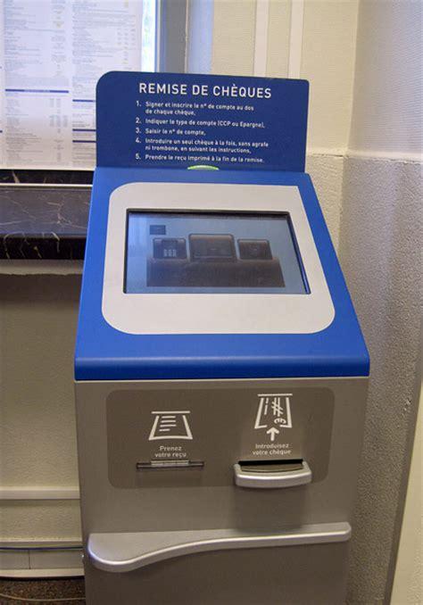 si鑒e de la banque postale l 39 automate de la poste française vous êtes forcés de l 39 adopter