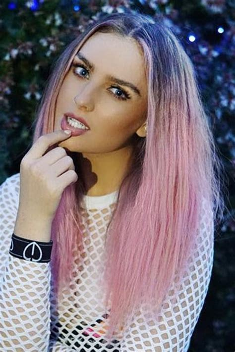 perrie edwards hairstyles hair colors steal  style