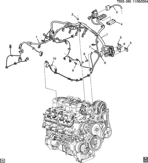Chevy Trailblazer Engine Diagram Automotive Parts