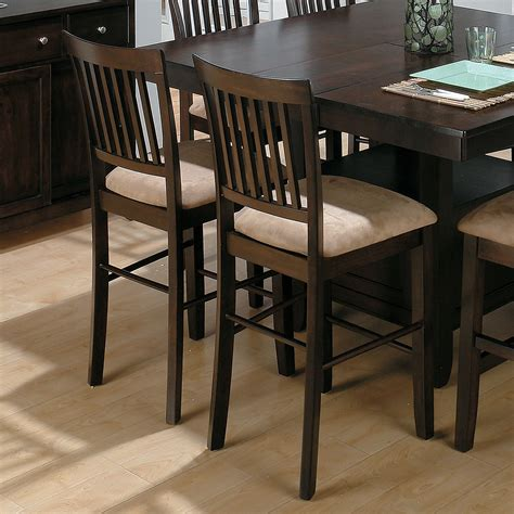 jofran bakers cherry counter height chair 2 chairs bar