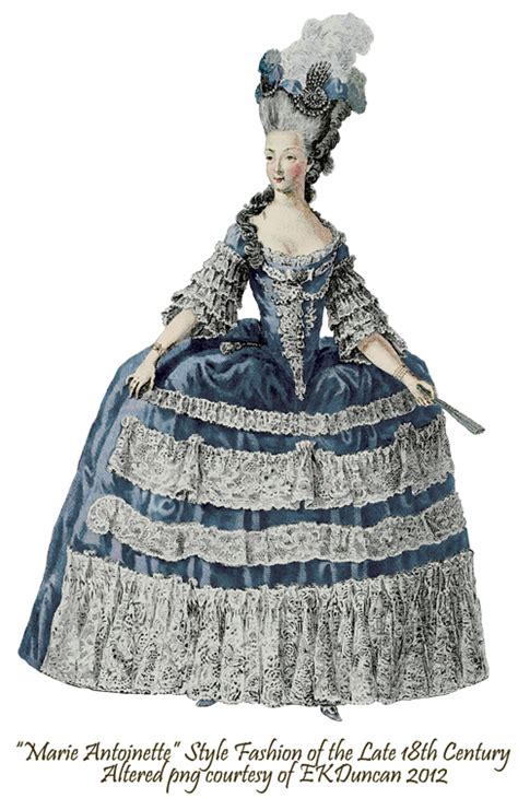 ekduncan  fanciful muse marie antoinette style