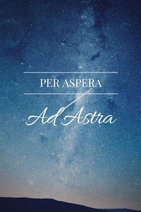 aspera ad astra quotes latin quotes wallpaper