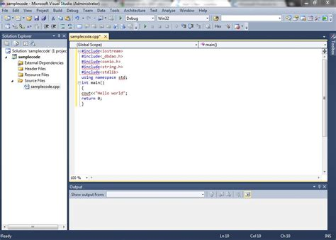 Vs-2010-ultimate Unable To Include Any Library Except #include