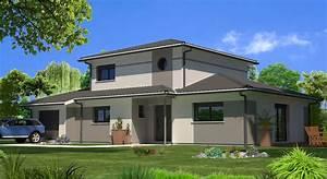 modele maison moderne a etage ks84 jornalagora With photos de maison moderne