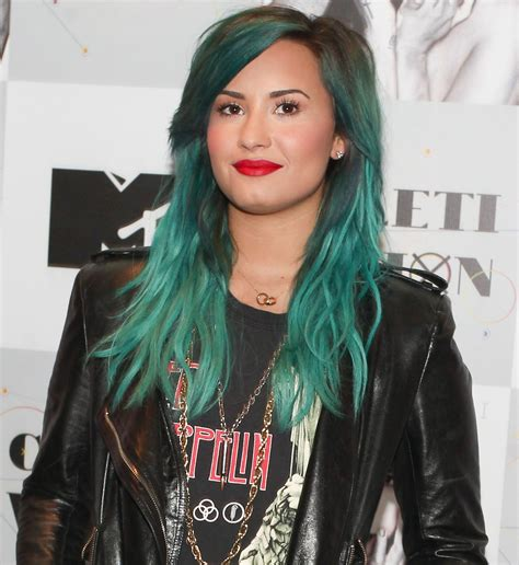 Technicolor Hair Can Anyone Pull It Off Turquoise
