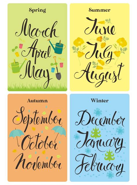 7 Best Images of Free Printable Month Names - Months of ...